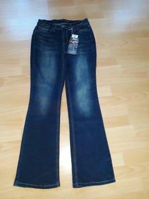 Arizona Stretch Jeans dark blue mixture fibre