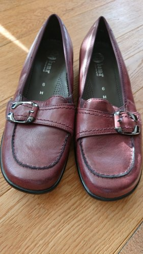 Neue Bama Ballerinas Slipper bordeaux H 39