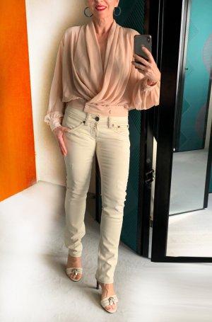 Neue beige Jeans, Replay, Gr. 27, destroyed Look, Modell Fabienne