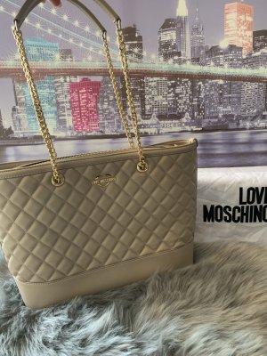Neue Beige Tasche von Moschino