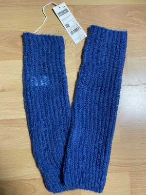 Benetton Legwarmers steel blue