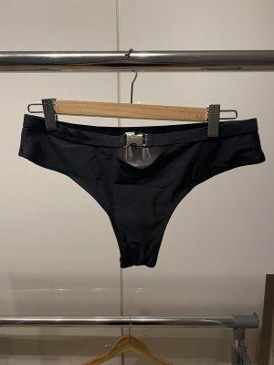 Bikini zwart-zilver