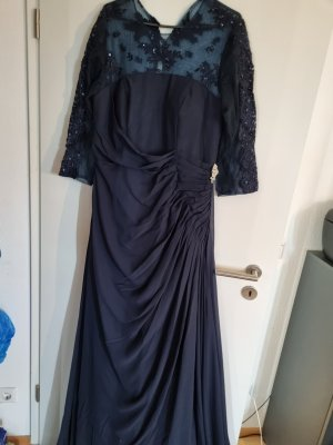 Neue Blaue Abendkleid