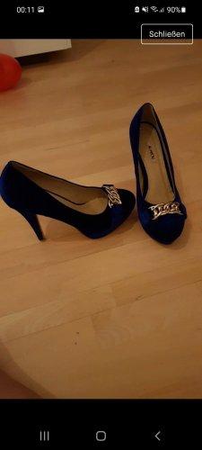 Neue Blaue High Heels