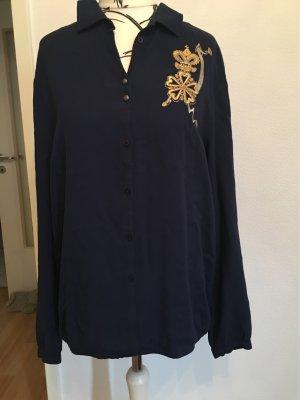 Neue Bluse blau