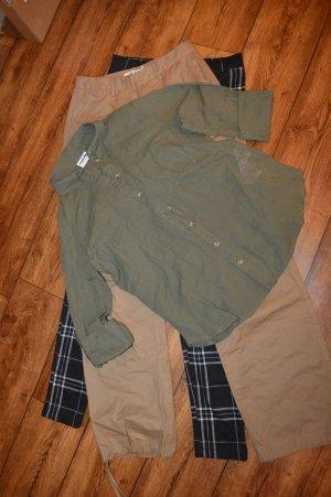 Neue Bluse khaki Noisy May Gr. 38