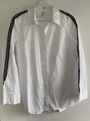 Neue Bluse von Zara mit Stickerei, S