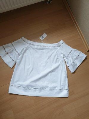 neue Bluse weiss Gr. XL von Michael Kors