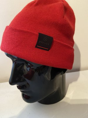 Bogner Fire + Ice Knitted Hat red