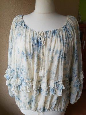 neue Boho Bluse Blütenmuster Gr. XL von Denim & Supply Ralph Lauren