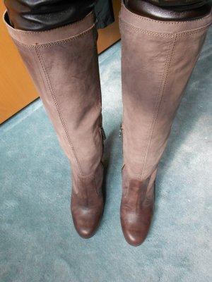 Neue braune Stiefel, Leder, Miss Sixty, Gaia - G. 39 Originalpreis Euro 199,00