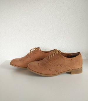 Atmosphere Wingtip Shoes light brown-brown