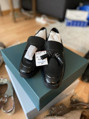 Zara Budapest schoenen zwart