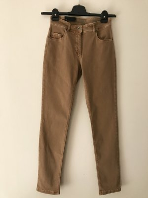 Betty Barclay Five-Pocket Trousers camel cotton