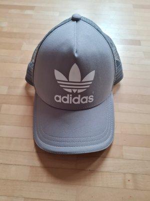 Adidas Berretto da baseball argento-bianco