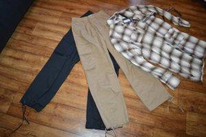 Neue Cargo Wide Leg Pants 34 von Nakd