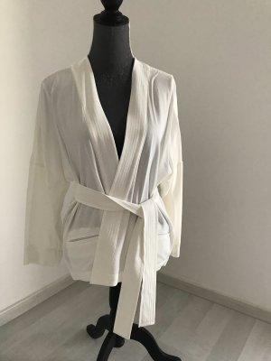 Comptoir des Cotonniers Kopertowa bluzka w kolorze białej wełny Wiskoza