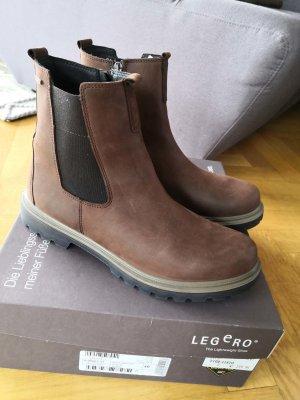 Neue Chelsea Boots, Legero, Nubuk, Stiefelette,braun, goretex