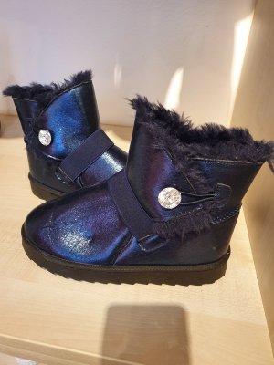 Botas de nieve azul