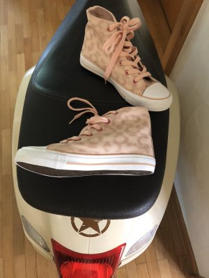 0039 Italy Lace-Up Sneaker light pink-dusky pink