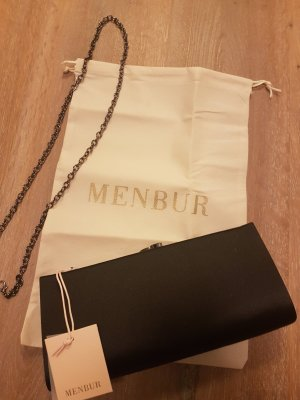 neue Clutch von Menbur in schwarz
