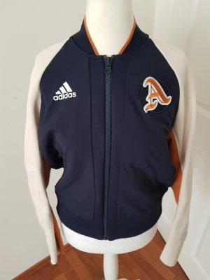 Adidas College Jacket dark blue