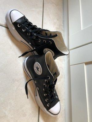 Converse Wysokie trampki czarny-biały