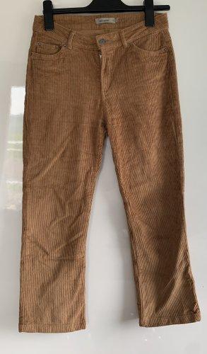 Vera Moda Pantalon en velours côtelé multicolore