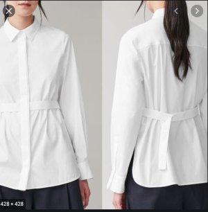 neue COS straight shirt bluse mit gürteldetail
