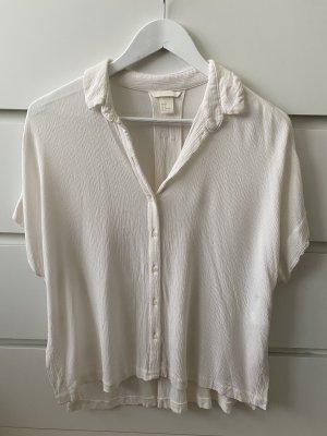 Neue Creme weiße lockere Bluse von H&M M 38