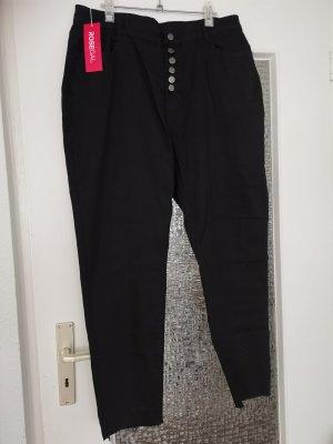 rosegal Pantalon fuselé noir