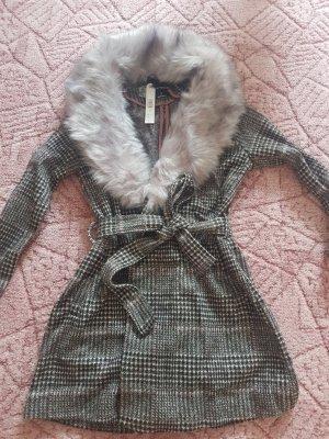 Tally Weijl Manteau en duvet gris-gris foncé