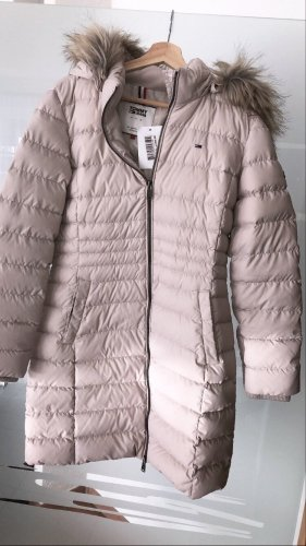 Neue Daunenjacke Tommy jeans Tommy Hilfiger Offwhite Creme