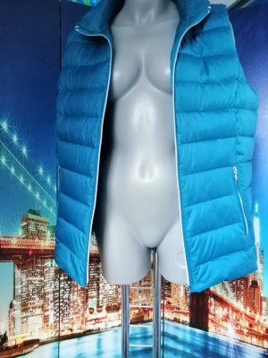 Canda Premium Down Vest light blue