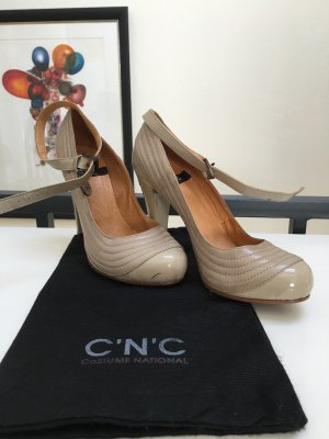 NEUE Designerschuhe von CNC in Nude Slingpumps Slingback