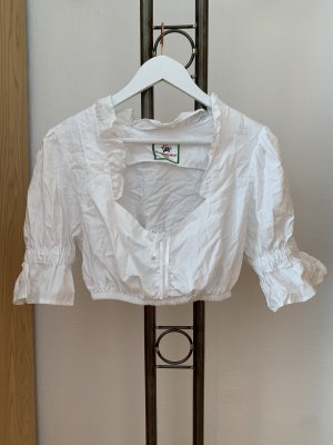 Trachtenpoint Traditional Blouse white