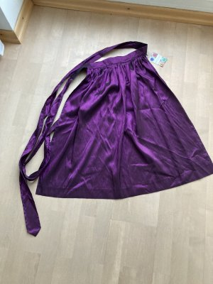 Berwin & Wolff Traditional Apron dark violet