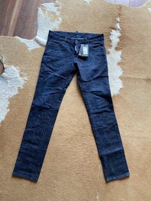 Neue Dsquared2 Damen Jeans mit Punkten It. 46 D 40 NP 300€