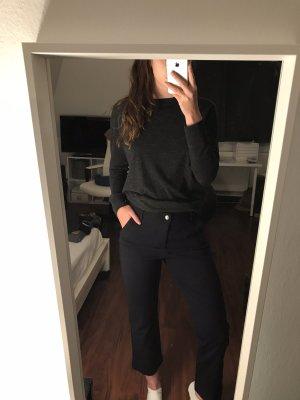Neue dunkelblaue Stoffhose von Mac