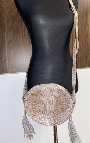 Neue Echt Leder Handtasche