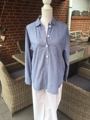 edc by Esprit Blusa-camisa azul aciano