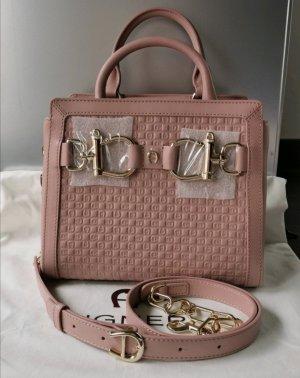 Aigner Handbag dusky pink-pink leather