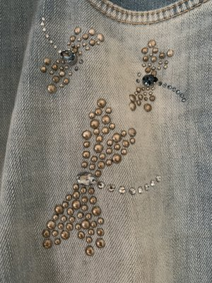 Cambio Slim Jeans azure