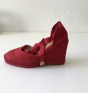 Castañer Espadrille Sandals brick red