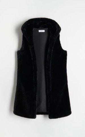 Reserved Smanicato di pelliccia nero