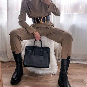 Neue fließende Bundfaltenhose von Zara