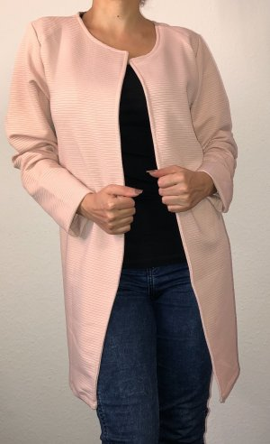 Colours of the World Lange blazer stoffig roze-rosé
