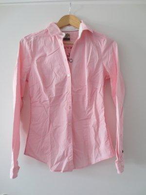 NEUE Gaastra Bluse, rosa, Gr. 36/S, langarm, hinten Aufdruck, tailliert