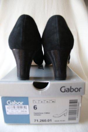 Neue Gabor Pumps, schwarz, Gr. 6, Leder, Neupreis 99,95 EUR