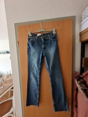 Gap Jeansy z prostymi nogawkami niebieski